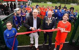 West Way Sports Hub opening event