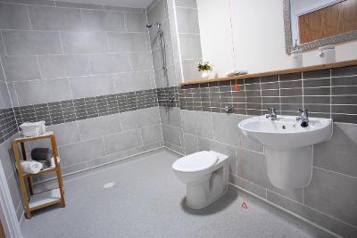 image of a bathroom in Primrose Gardens